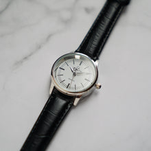 Load image into Gallery viewer, Christyan Arden XANDER CA3210 - Around The World Edition - White Dial - Black Full Grain Strap (Wanita)