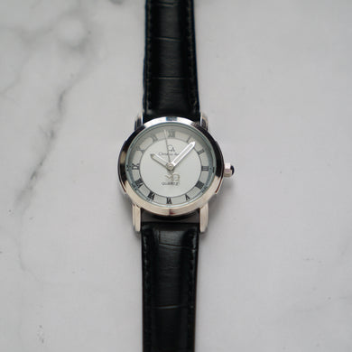 Christyan Arden FALANA CA3212 - Around The World Edition - White Dial - Black Strap (Wanita)