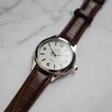 Muat gambar ke penampil Galeri, Christyan Arden AVA CA3215 - Around The World Edition - White Dial - Brown Full Grain Strap (Pria)