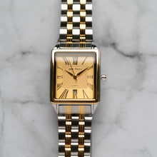 Load image into Gallery viewer, Jean Alexis WILMER GKT JA123 - Prestige Edition - Silver & Gold Stainless Steel Strap - Gold Case - Gold Dial (32mm)