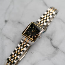 Load image into Gallery viewer, Jean Alexis WILMER LKT JA123 - Prestige Edition - Silver & Gold Stainless Steel Strap - Gold Case - Black Dial (28mm)