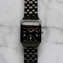 Load image into Gallery viewer, Jean Alexis WILMER GHT JA123 - Prestige Edition - Black Stainless Steel Strap - Black Case - Black Dial (32mm)