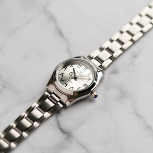 Christyan Arden AALI CA3109C - Around The World Edition - Silver SunBurst Dial (Wanita)