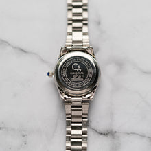 Load image into Gallery viewer, Christyan Arden AALI CA3109C - Around The World Edition - Silver SunBurst Dial (Wanita)
