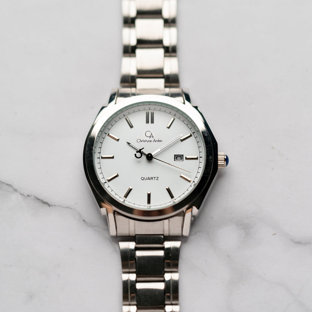 Christyan Arden ICARUS CA-001C - Around The World Edition - White Dial (Pria)