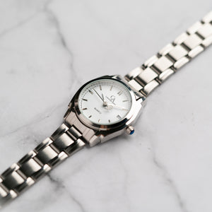 New Christyan Arden ICARUS CA-001C - Around The World Edition - White Dial (Wanita)