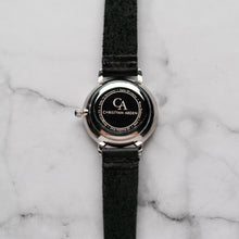 Load image into Gallery viewer, New Christyan Arden KARAN CA3204 - Around The World Edition - White Dial - Black Full Grain Strap (Wanita)