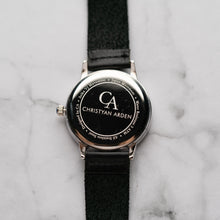 Load image into Gallery viewer, New Christyan Arden OWEN CA3213 - Around The World Edition - Black Dial - Black Full Grain Strap (Pria)