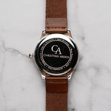 Load image into Gallery viewer, New Christyan Arden NEO CA-0001 - Around The World Edition - White Dial - Brown Strap (Pria)