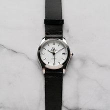 Load image into Gallery viewer, New Christyan Arden ICARUS CA-001 - Around The World Edition - White Dial - Black Full Grain Strap (Wanita)