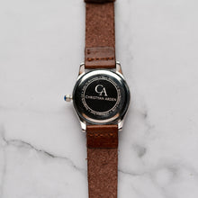 Load image into Gallery viewer, New Christyan Arden GENESIS CA3104 - Around The World Edition - Black Dial - Brown Full Grain Strap (Wanita)