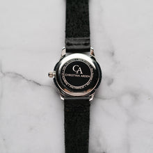 Load image into Gallery viewer, New Christyan Arden FELIPE CA3108 - Around The World Edition - Black Dial - Black Full Grain Strap (Wanita)
