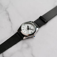 Load image into Gallery viewer, New Christyan Arden GENESIS CA3104 - Around The World Edition - White Dial - Black Full Grain Strap (Wanita)