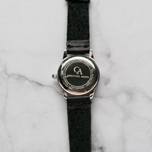 Load image into Gallery viewer, New Christyan Arden FALANA CA3212 - Around The World Edition - White Dial - Black Full Grain Strap (Wanita)