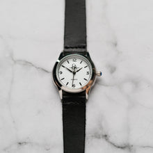Load image into Gallery viewer, New Christyan Arden AVA CA3215 - Around The World Edition - White Dial - Black Full Grain Strap (Wanita)