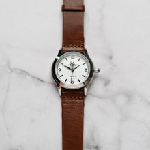 Muat gambar ke penampil Galeri, New Christyan Arden AVA CA3215 - Around The World Edition - White Dial - Brown Full Grain Strap (Wanita)