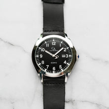 Load image into Gallery viewer, New Christyan Arden TITAN CA-0002 - Around The World Edition - Black Dial - Black Strap (Pria)