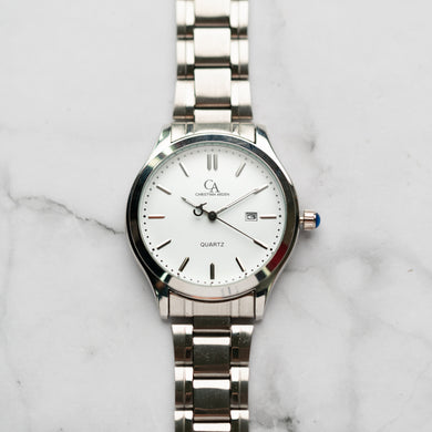 New Christyan Arden NEO CA-0001C - Around The World Edition - White Dial (Pria)