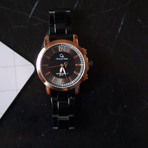 Christyan Arden Luxury Watch CA4053 Black Dial (Pria)