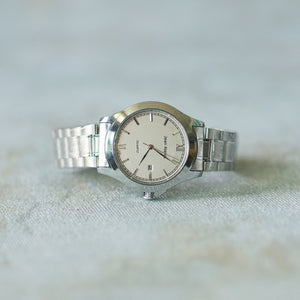 Jean Alexis Luxury Watch GT JA006 White Dial (Man) Silver Hands