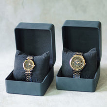 Load image into Gallery viewer, Jean Alexis Luxury Watch GKT JA002 Black Dial (Man) Gold Hands