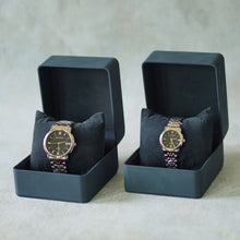Load image into Gallery viewer, Jean Alexis Luxury Watch LKT JA003 Black Dial (Wanita) Gold Hands