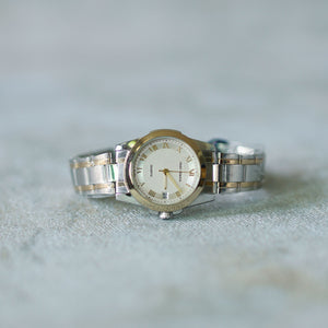 Jean Alexis Luxury Watch LKT JA008 White Dial (Wanita) Gold Hands
