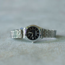 Load image into Gallery viewer, Jean Alexis Luxury Watch LT JA010 Black Dial (Wanita) Silver Hands