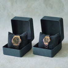 Load image into Gallery viewer, Jean Alexis Luxury Watch GST JA008 Black Dial (Man) Rosegold Hands