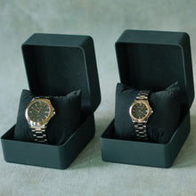 Load image into Gallery viewer, Jean Alexis Luxury Watch GST JA006 Black Dial (Man) Rosegold Hands