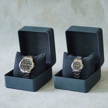 Load image into Gallery viewer, Jean Alexis Luxury Watch GT JA008 Black Dial (Man) Silver Hands