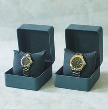 Load image into Gallery viewer, Jean Alexis Luxury Watch LKT JA006 Black Dial (Wanita) Gold Hands