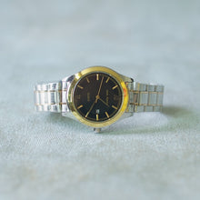 Load image into Gallery viewer, Jean Alexis Luxury Watch GKT JA006 Black Dial (Man) Gold Hands