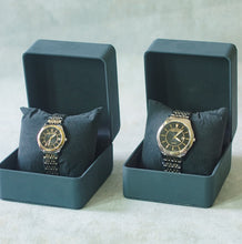 Muat gambar ke penampil Galeri, Jean Alexis Luxury Watch GKT JA010 Black Dial (Man) Gold Hands