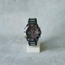 Load image into Gallery viewer, POSITIF DIGITAL WATCH Stainless Steel DT PS8011 Full Black Red