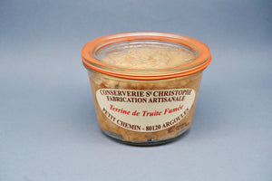 Smoked Trout Terrine - Terrine de Truite Fumée - 270G - At.Flo