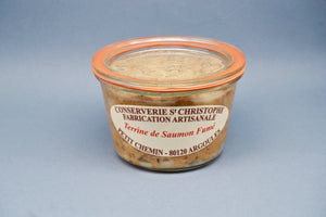Smoked Salmon Terrine - Terrine de Saumon Fume - 270G - At.Flo