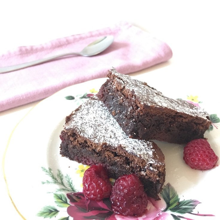 The Ultimate Chocolate & Raspberry Brownies Recipe