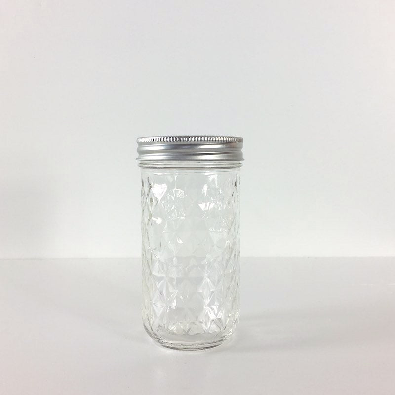 Ball 12oz Quilted Crystal Jelly Jars - Regular Mouth