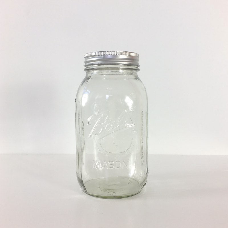 Ball Quart Mason Jars - Regular Mouth