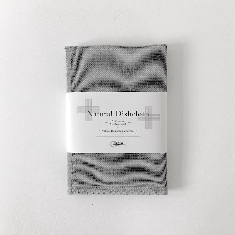 Binchotan Charcoal Dishcloth by Nawrap