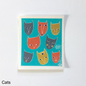 Cats Spruce Cloth NZ