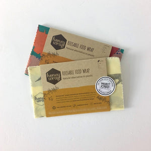 Honeywrap Beeswax Wraps - SMALL (Twin Pack)
