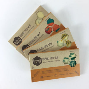 Honeywrap Beeswax Wraps - Multi Pack (S, M, L)