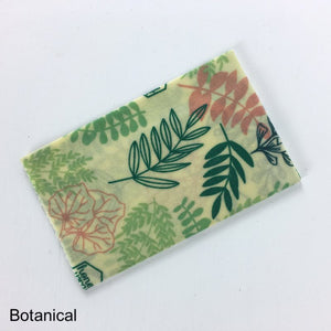 Honeywrap Beeswax Wraps - Medium - Botanical