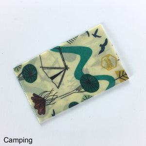 Honeywrap Beeswax Wraps - Medium - Camping