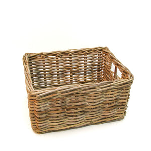 Rectangular Rattan Basket NZ