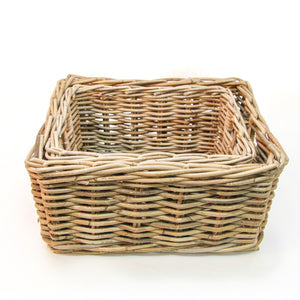 Rectangular Rattan Baskets
