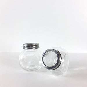Spice Jars made from glass with a clear perspex lid available in NZ
