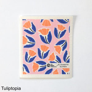 Tuliptopia Spruce Cloth NZ